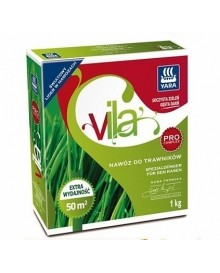 Гранулированное удобрение Yara Vila осеннее для газонов, 1 кг
