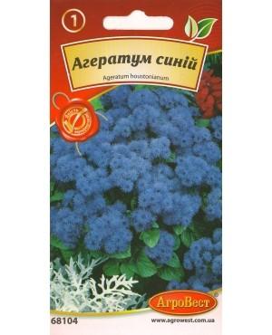 Агератум синій